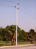 Pultruded Composite Utility Pole
